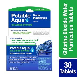 Potable Aqua Chlorine Dioxide Water Purification