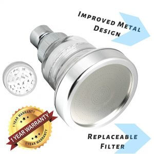Barclay's Buys Better Home Goods Filtered Shower Head