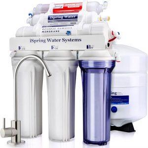 iSpring RCC7AK 6-Stage Under Sink Reverse Osmosis Water Filter